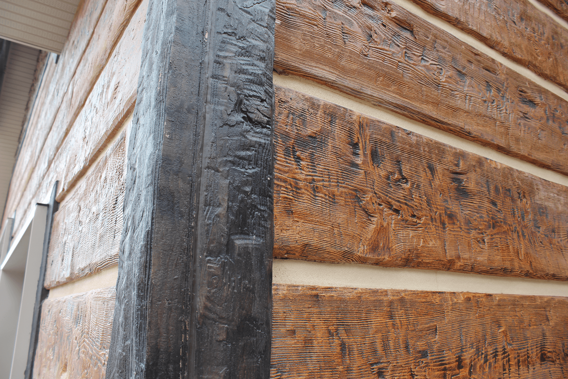 Chink material better than logs for Buy log siding